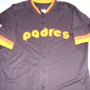 San Diego Padres  Majestic Cooperstown Jersey 2XL